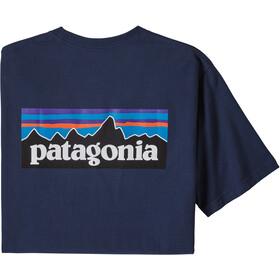 Patagonia P-6 Logo Pocket Responsibili-Tee Men, classic navy
